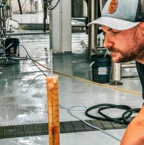Dave Reese brewmaster, advanced cicerone and owner of Fly Llama Brewing
