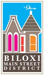 Biloxi Main Street District Logo